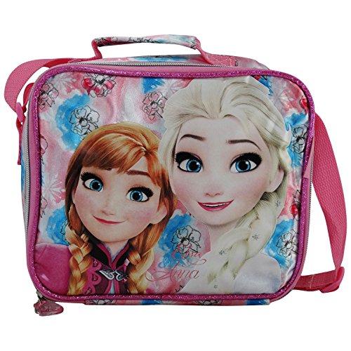 Disney frozen magic cestino porta pranzo merenda asilo elementari gite