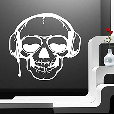 OverDose Halloween Stickers Home Decoration Art Mural Skeleton Background Wall Sticker