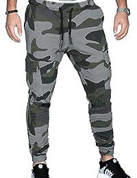 MERICAL Pantalon de Sport pour Homme à Jambe étroite avec Cordon de Serrage  Pantalon de Sport aeeb0a5e101