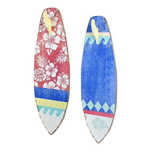 Vidal Regalos Adorno Decorativo Pared x2 Tablas Surf