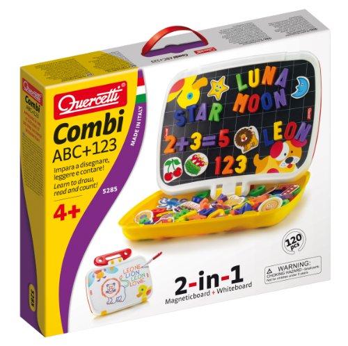Quercetti 05285 - Gioco Combi ABC/123