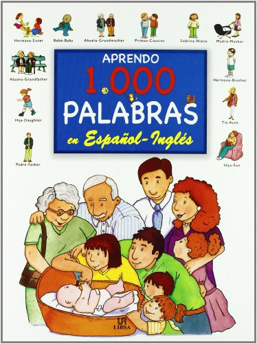 Aprendo 1.000 palabras en espanol-ingles/ I Learn 1,000 Words in Spanish-English par Elena Ferrandiz