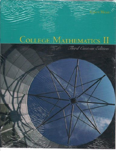 college-mathematics-ii-third-custom-edition-and-student-solutions-manual-course-pack-for-itt-technic