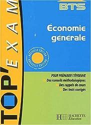 Economie générale BTS toutes sections