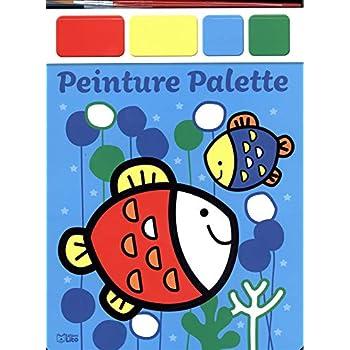 Mon bloc magique: Peinture palette - les poissons - Dès 3 ans