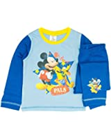 Boys Disney Mickey Mouse Pyjamas Sizes 12 Months to 4 Years