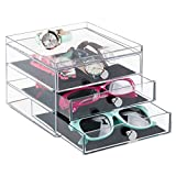 Best MetroDecor Eyeglasses - mDesign Storage Box for Eyeglasses - Practical Eyeglasses Review