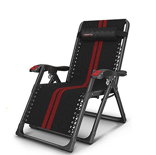 Guoyajf Zero Gravity Chairs Lounge Patio Stühle, Klapp-Und Liegewiese Mit Kopfkissen Für Outdoor Yard Beach New, Outdoor Patio Zubehör
