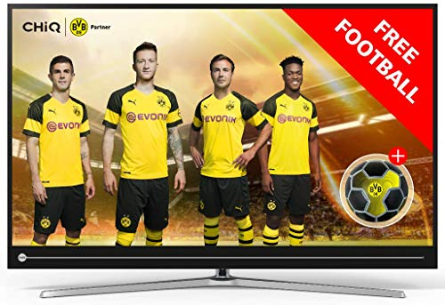 CHiQ 55 Pouces (139cm) U55G6000 4K Smart TV,Ultra HD,HDMI2.0, USB, HDR10,WiFi, Netflix, Youtube, Soundbar.