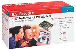 U.S. Robotics 56K V90 PCI Performance Pro Faxmodem Dos NT Linux