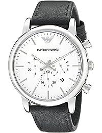 495db79cff4e Emporio Armani Reloj para Hombre de Cuarzo con Correa en Cuero AR1807