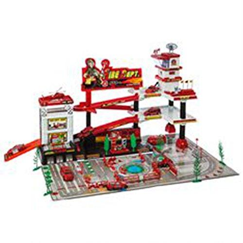 Garage de pompier + 9 véhicules 3560238505526