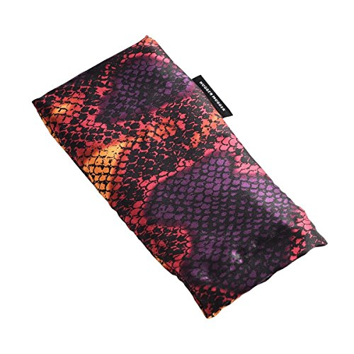 Hugger Mugger Silk Yoga Eyebag (Flax) - Vibrant Viper Lil Huggers