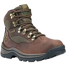 Timberland - Zapatillas de senderismo de cuero nobuck para mujer