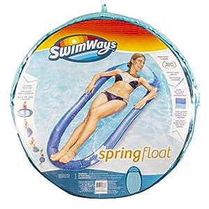 SwimWays Spring Float Original Colchón Flotante - Flotadores para Piscina y Playa (Colchón Flotante, 113 kg, 15 año(s), Hombre/Mujer, China, 1010 mm)