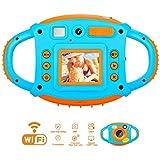 Cámara para Niños Cámara Digital para Niños Pequeños con Cámaras Duales Camara Fotos Niños 1.77 Pantalla HD en Color Videocámara para Niños WiFi de 5 MP Niños Cámaras