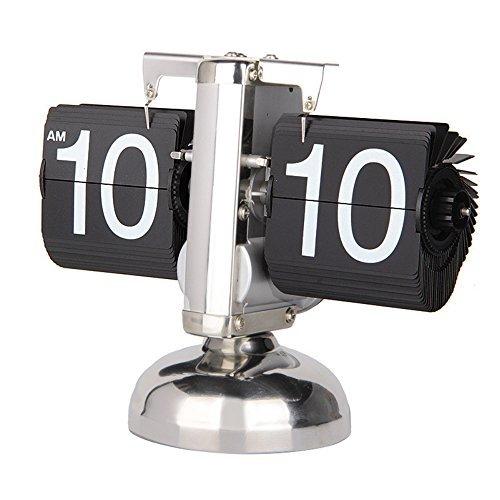 Betus [Estilo Retro Reloj Giratorio Escritorio Repisa: