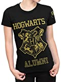 Harry Potter - Maglietta a maniche corte - Hogwarts - Donna - Medium