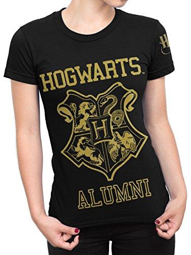 Harry Potter - Maglietta a maniche corte - Hogwarts - Donna - Large