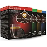 64 Lavazza A Modo Mio® Compatible Coffee Capsules / Pods,Tre Venezie Starter Pack. Low price, but not low on quality.
