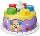 Fisher Price Laugh and Learn Smart Stages Magical Lights Birthday Cake, Multi Color