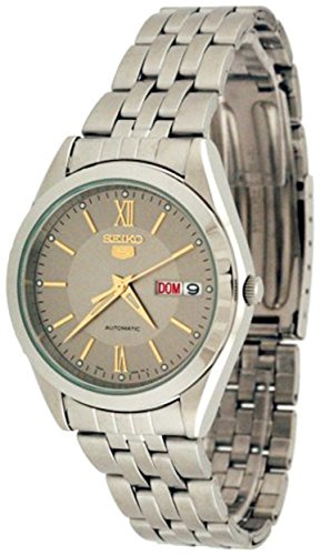 Seiko Men's SNXA03K Stainless-Steel Automatic Watch with Gold Dial