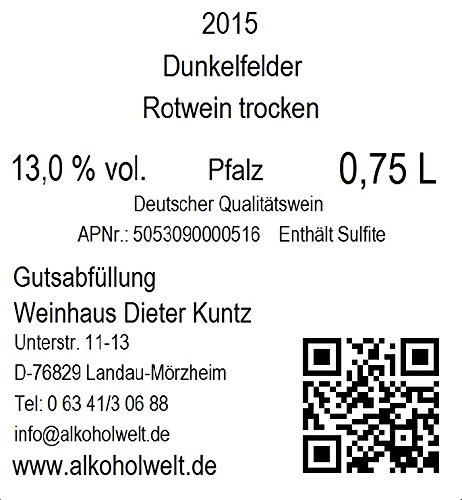 Weinhaus-Dieter-Kuntz-Dunkelfelder-2015-trocken-6-x-075-l