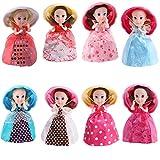 TOYMYTOY Cupcake Überraschung Parfümierte Prinzessin Puppe Mini Cupcake Prinzessin Puppe Magisches Geschenk Spielzeug für Babys (Gelegentliche Farbe)