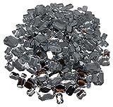 CRYSTAL KING 450 Stück Mischung Glitzernde Steine zum Aufnähen Strasssteine zum Annähen Runde Acrylsteine Gltzersteine Schmucksteine Strass Annähsteine Aufnähsteine Dekorieren
