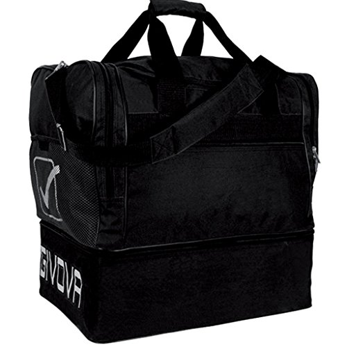 Givova borsa medium 10, unisex – adulto, nero (negro), 45 centimeters