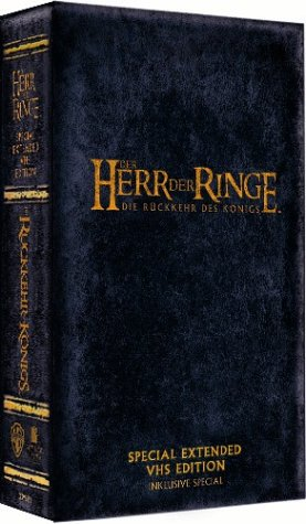 Der Herr der Ringe - Die Rückkehr des Königs (Special Extended Edition) [VHS] (Herr Der Ringe Der Vhs)