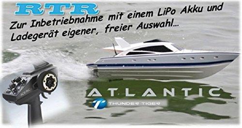 Thunder-Tiger Motoryacht Atlantic OBL Brushless RTR T5128-F13 - 2