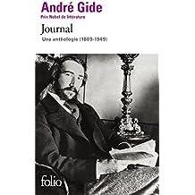 Journal: Une anthologie (1889-1949)