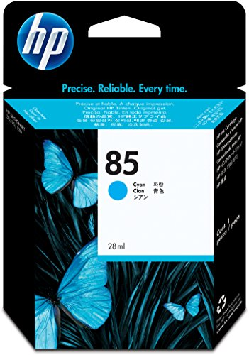 HP N°85 Cartouche d'encre Cyan C9425A