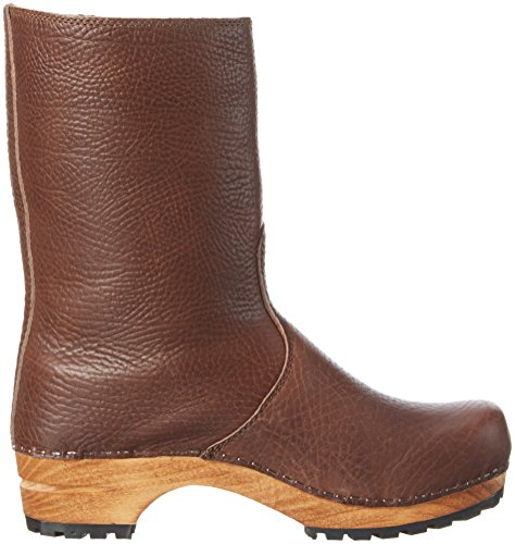 Sanita - Puk Boot, Stivali a metà polpaccio non imbottiti Donna Marrone (Braun (Antique Brown 78))