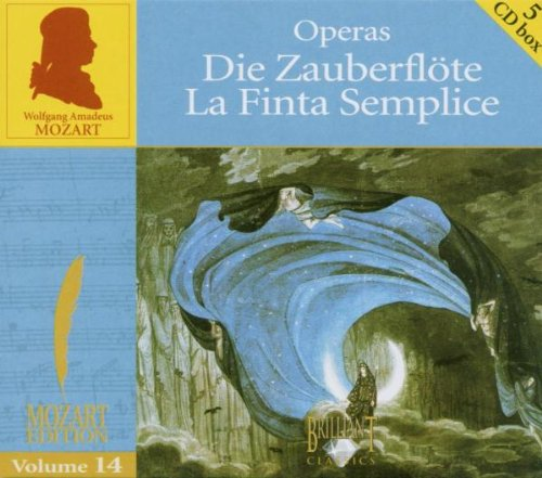 Mozart Edition Vol. 14: Die Zauberflöte / La Finta Semplice