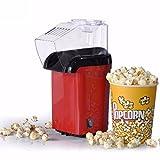 Best Hot Air Poppers - Krupalu New Design Red Hot Air Popcorn Maker Review