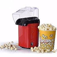 Krupalu New Design Red Hot Air Popcorn Maker Popper Popping Machine 1200 Watts
