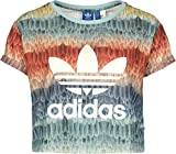 adidas Originals Damen T-Shirt Menire Cropped Logo T-Shirt