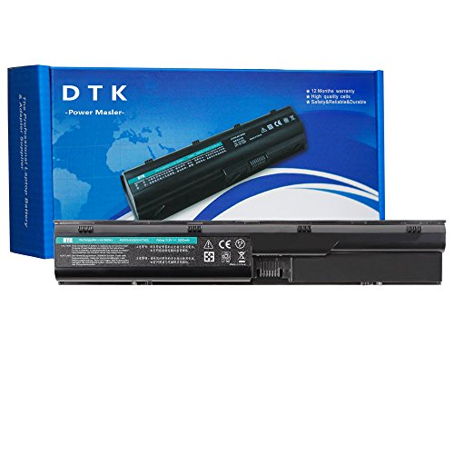 Dtk® Ultra Hochleistung Notebook Laptop Batterie Li-ion Akku für Hp Probook 4330s 4331s 4430s 4431s 4435s 4530s 4535s 4536s 4440s 4441s 4446s 4540s 4545s Series [6-cell 10.8v 4400mah]