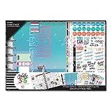 Me & My Big Ideas - Kit d'agenda Best Year - Créer pour 365 Jours, Papier, Multicolore, 25.5 x 36.5 x 3.8 cm