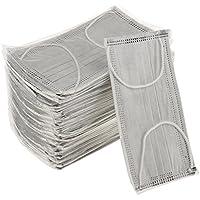MagiDeal Mundschutz Maske Mundschutzmasken, grau mit Gummibändern 50 Stück Einmal Mundschutz Masken preisvergleich bei billige-tabletten.eu