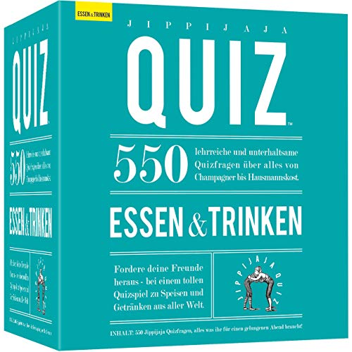 Kylskapspoesi 40027 - Essen und Trinken Jippijaja Quiz
