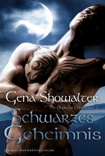 Buchseite und Rezensionen zu 'Schwarzes Geheimnis: Die Herren der Unterwelt 7' von Gena Showalter