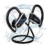 Cuffie Bluetooth, Voberry IPX7 Auricolari Bluetooth Sport, Cuffie Senza Fili in Ear AptX, CVC 6.0, Autonomia Batteria fino a 8 ore, Vestibilità sicura per lo Sport e Allenamenti