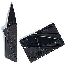 Kreditkartenmesser, Schwarz