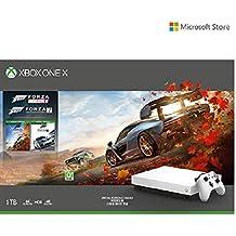 Microsoft Xbox One X 1 TB Console - Special Edition White  Forza Horizon Bundle