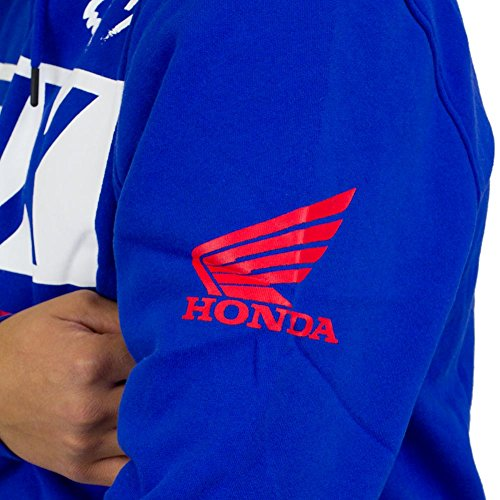 Fox Hoody Honda Basic blau Blau