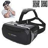 3D VR Brille Headset mit verstellbarem Objektiv und Strap für 3,5–14Smart Handys Upgraded Version