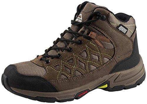 Multi-hiker mid chaussure cisco aqx w-olive/marron/jaune - Marron